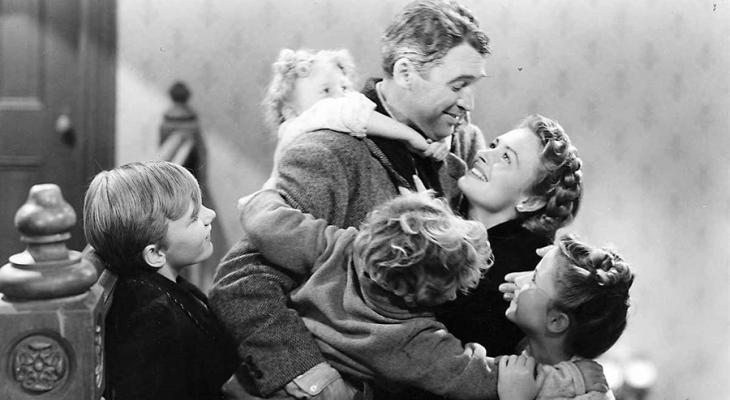 Jimmy Stewart in It's a Wonderful Life