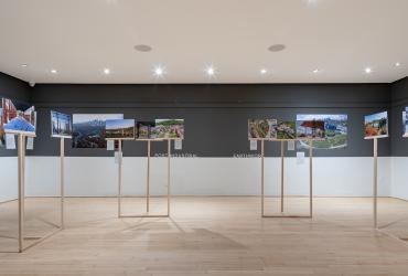 "Images from the exhibition ""Emerging Ecologies"" at the Istituto Italiano di Cultura Toronto"