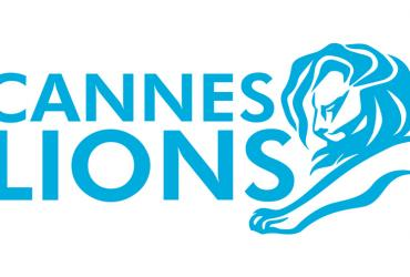 Cannes Lions logo of a blue lion