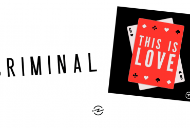 Criminal and This is Love podcast logos