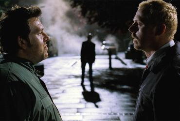 Shaun of the Dead movie still with Simon Pegg