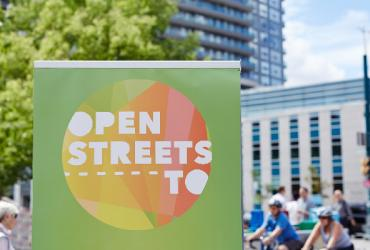 open streets sign