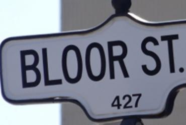 bloor st sign